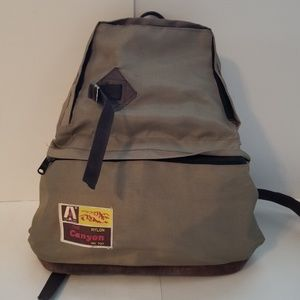 Vintage Camping Hiking Day Backpack The Aline